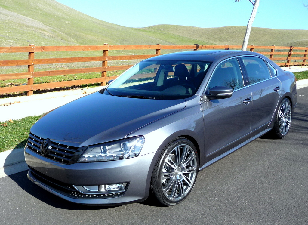 """2013 Passat w/ H&R Springs and 20"""" Wheels (Pics)"""