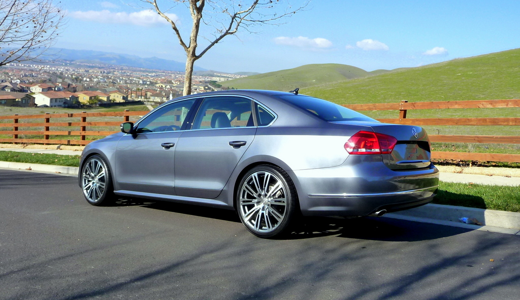 2013 Passat W H Amp R Springs And 20 Quot Wheels Pics